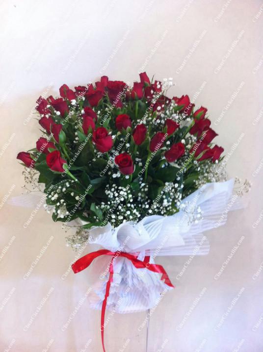 Biricik Aşkım Gül Çiçek Buketi C-BUK141