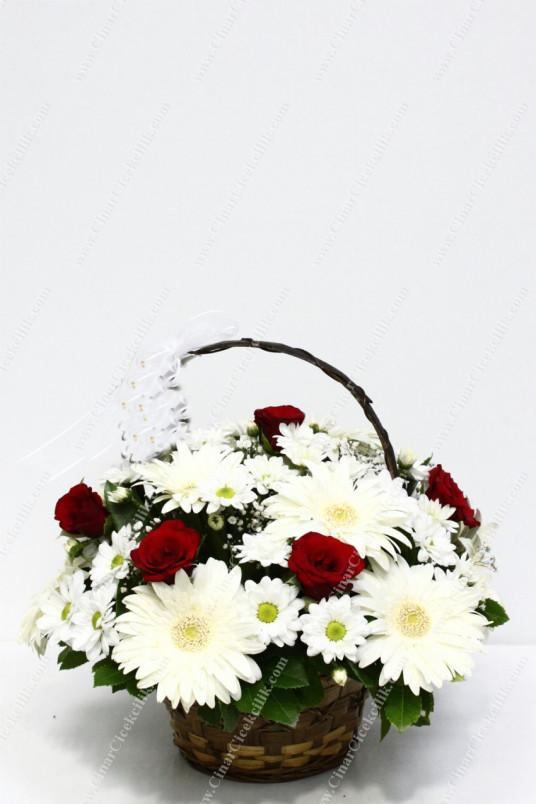 Sevgi Kelebeği Gerbera Gül C-AR134