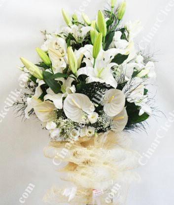 Beyaz Sevgi  Buket C-BUK147