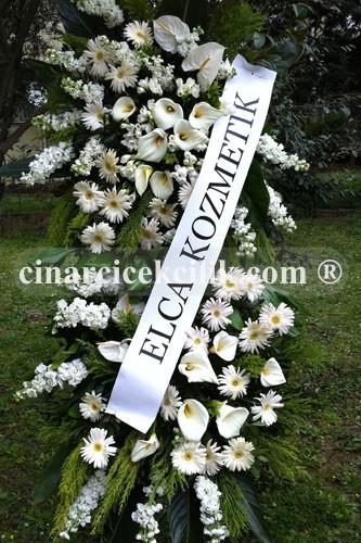 Beyaz Düş Düğün Nikah Ferforje Çiçeği