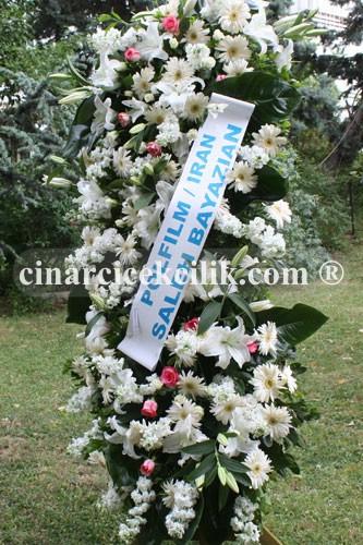 Beyaz Melek Düğün Nişan Ferforje Çiçeği