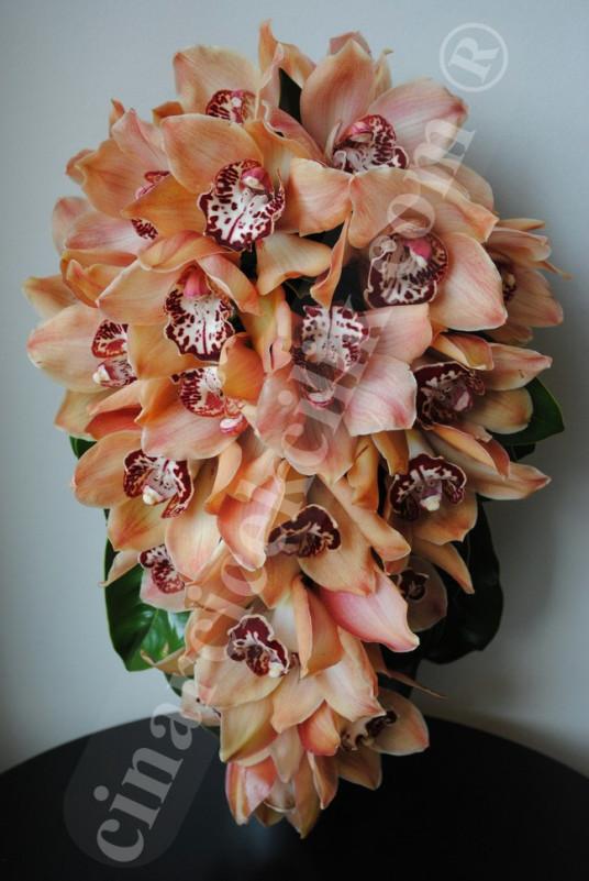 Orkide Gelin Buketi Sarkmalı