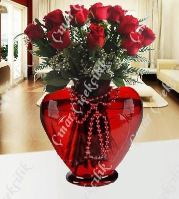 Kalbimin Aynası 11 Kırmızı Gül