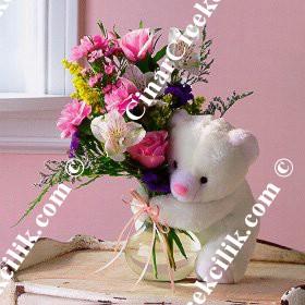 Karışık Oyuncaklı Çiçek C-OY113