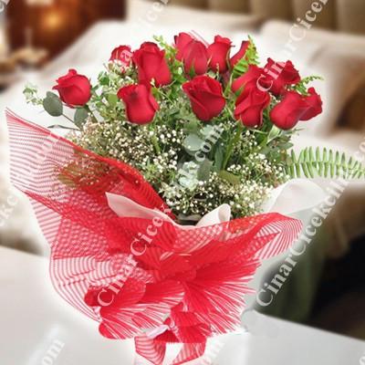 Aşkın Tarifi Kırmızı Gül Buketi C-BUK123