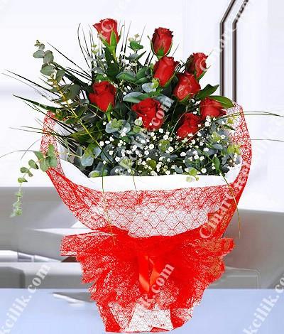 Sevgilim Kırmızı Gül Buketi C-BUK101