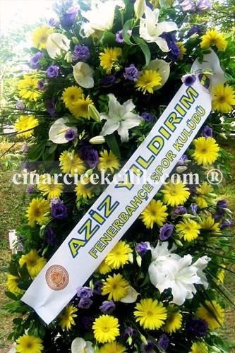Sarı Laciver Düğün Nişan Açılış Çiçekleri