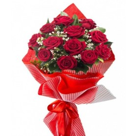 Sonsuz Sevgi Kırmızı Gül Buketi C-BUK106