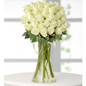 41 Beyaz Gül  Çiçek Sepeti Gönder C-CAM141