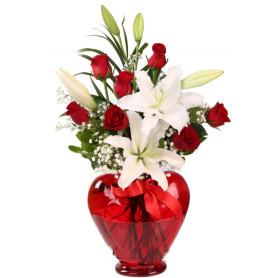 Romantik Aşk Lilyum Gül C-KLP101