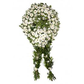 Beyaz Jerbera Cenaze Çelengi