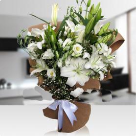 Beyaz Duygu Çiçek Buket C-BUK143