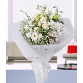 Güzel Beyaz Papatya Kır Buketi Çiçeği C-BUK154
