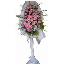 Düğün & Açılış Nikah Çiçeği Tek Katlı Pembe