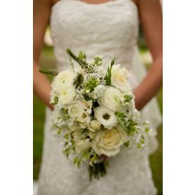 Beyaz Kır Çiçekleri Gelin Buketleri