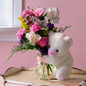 Karışık Oyuncaklı Çiçek