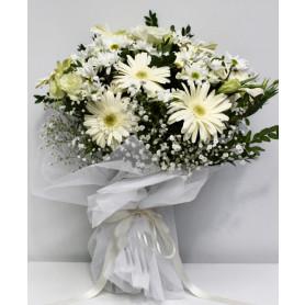 Masum Sevgi Beyaz Kır Buketi C-BUK155