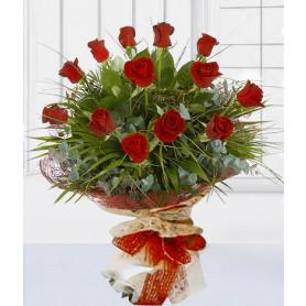 Büyülü Aşk Kırmızı Gül Buketi C-BUK111