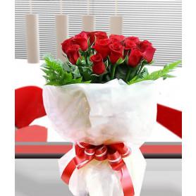 Büyülü Aşk Kırmızı Gül Buketi C-BUK114