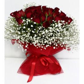 Aşkların En Güzel Kırmızı Gül Buketi BUK110