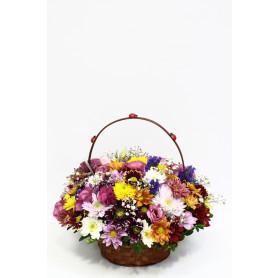 Herşeyim Sensin Çiçek Sepeti Kır Çiçek