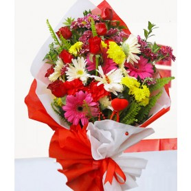 Sevgi Kır Çiçek Buketi C-BUK161
